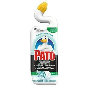 Pato wc power de sc johnson, limpiador inodoros aroma lejía fresh, 750 ml