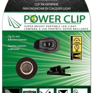 Lámpara led portátil panther vision anywhere, power clip ajustable a cualquier superficie