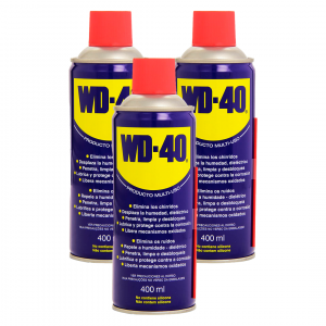 Wd-40, lubricante multi-uso en spray 400 ml. pack de 3 unidades