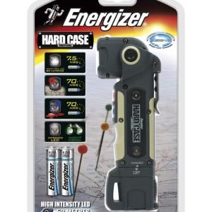 Energizer linterna hard case tactical led, sumergible, flotadora y ultra resistente