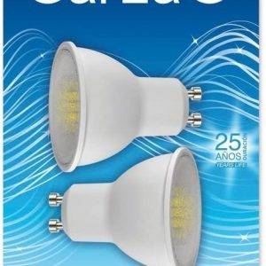 Garza lighting, blister de 2 bombillas led 5w luz cálida 60° 350 lúmenes