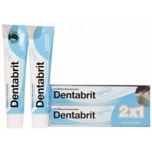 Dentabrit blanqueador  125 ml 2 u