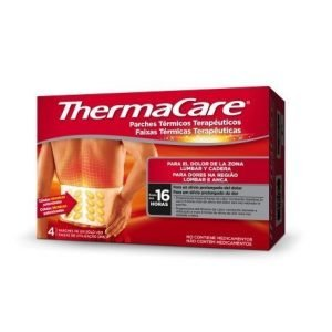 Thermacare parche termico zona lumbar cadera  4 parches