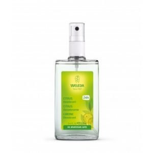 Weleda desodorante spray de citrus  1 envase 100 ml