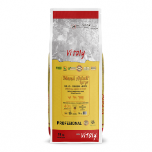VITALY MENÚ ADULT LARGE 18 KG Pienso Natural Completo para Perros