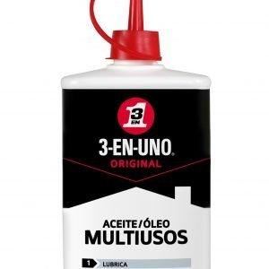 3 en uno original, gotero lubricante para limpieza y protección, 100 ml.