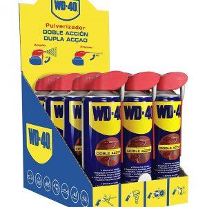 Wd-40 lubricante multi uso doble acción, 500 ml. pack 12 unidades wd40