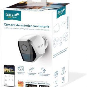 Garza smarthome, cámara ip inteligente de exterior con batería garza 1080p hd