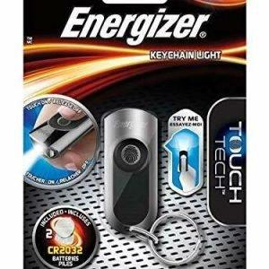 Linterna energizer led de llavero, keychain, touch tech, 20 lúmenes y pilas incluidas