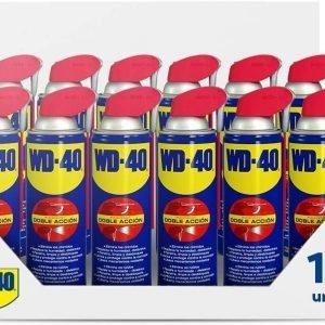 Pack 12 unidades wd-40, lubricante multiusos original, 500 ml