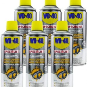 Wd-40 specialist, motorbike, spray lubricante grasa de cadenas ambiente húmedo. motos y bicicletas,