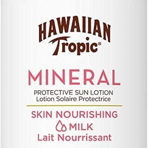 Hawaiian tropic mineral - loción leche solar nutritiva corporal spf 30, 100 ml