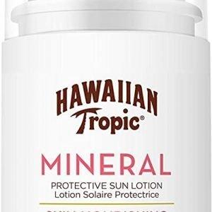 Hawaiian tropic mineral - loción leche solar nutritiva facial con factor spf 30, 50 ml