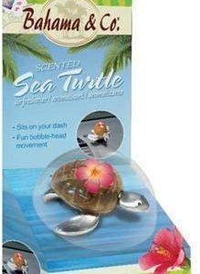 Bahama & co, ambientador coche, armario, casa con tortuga tropical de inspiración, fragancia hawaia
