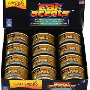 California scents, 12 latas de ambientador coche fragancia golden state