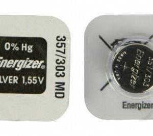 Energizer pila de botón 357/303
