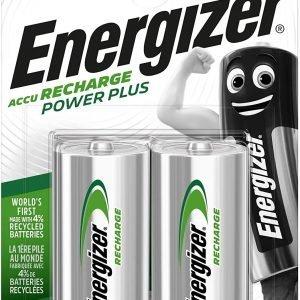 Pila recargable energizer hr14, 2500 mah, blíster 2 unidades