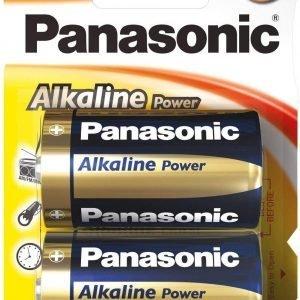 Panasonic, blister de 2 pilas panasonic alkaline power d lr20 1,5 v