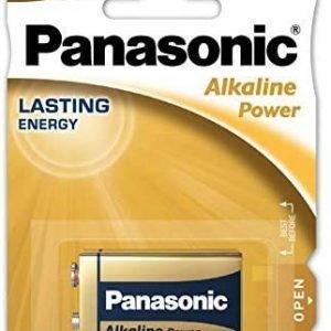 Panasonic, blister de 1 pila panasonic alkaline power 9 v 1,5 v