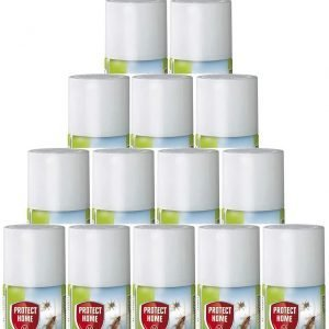 Protect home, insecticida descarga total, automático, antiguo solfac, 150ml. pack de 15 unidades