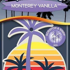 """California scents, ambientador de coche fragancia """"monterey vanilla"""" con aroma de vainilla de monte"""