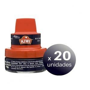 Crema autobrillante de ceras kiwi de sc johnson con aplicador para el cuidado del calzado, color az