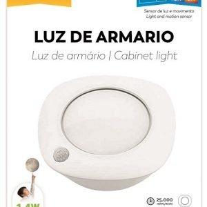 Garza lighting, luz de movimiento neutra 1,4 w 60 lúmenes y 40k con sensor