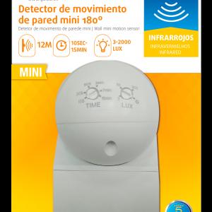 Garza power - detector de movimiento infrarrojos de pared mini, especial para exterior, ángulo de d