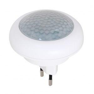 Garza power - detector de movimiento infrarrojos con luz led quitamiedos, enchufable, ángulo de det