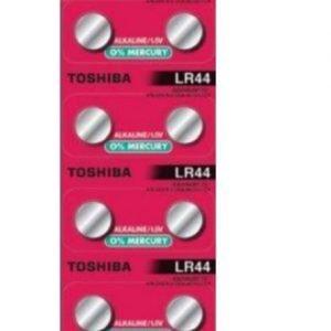 Panasonic, pack de 10 pilas / baterias micro alkalina original toshiba lr44 / a76, 1,55v. pack de 3