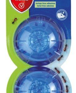 Protect home baythion, blister de 2 trampas antihormigas y hormigueros en gel para interiores y ext