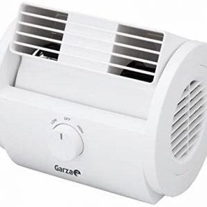 Garza nuberun, ventilador de sobremesa oscilante 25 w, 2 velocidades. stock