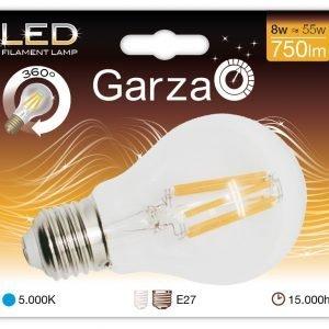 Bombilla garza led filamento estándar 9 w, e27, 360º, 1060 lúmenes, luz fría