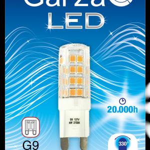 Garza lighting, bombilla led g9, 3,5w, 330º, 300 lúmenes, luz cálida