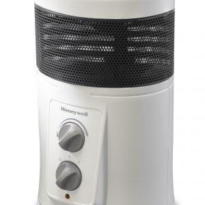 Honeywell modelo hz-425e, calefactor cerámico envolvente , 360º, 1800 w, blanco