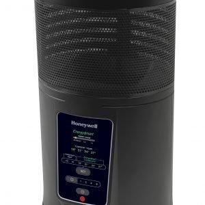 Honeywell hz-435e, calefactor cerámico inteligente 360º, 1800 w