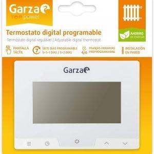 Garza power, termostato digital programable para caldera y calefacción, controlador temperatura tác