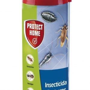 Protect home insecticida blattanex, uso doméstico de acción inmediata contra cucarachas, hormigas e
