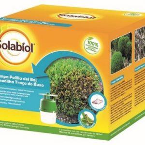 Sbm solabiol, trampa eficacia natural contra polilla del boj y 2 jeringuillas con feronomas, 200 gr