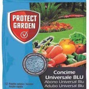 Protect garden blu, abono universal fertilizante azul granulado de acción rápida, huerto, jardín y