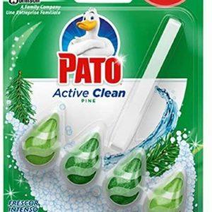 Pato active clean de sc johnson, colgador para inodoro, frescor intenso aroma pino - 150 grs