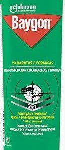 Baygon de sc johnson, insecticida polvo efecto barrera contra rastreros, cucarachas y hormigas, 250