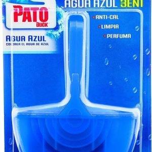Pato bloc wc aroma agua azul de sc johnson, limpieza para el inodoro