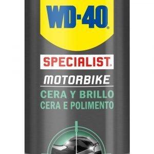 Wd-40 specialist motorbike, cera y brillo para bicicletas y motos. spray 400 ml