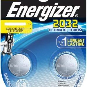 Energizer pila especial cr2032 ultimate lithium, blister 2 unidades