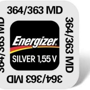 Pila de botón energizer 364/363