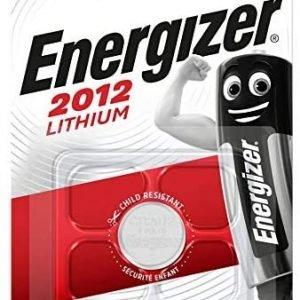 Pila de botón energizer 2012 lithium