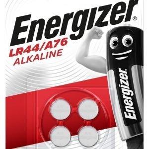 Pack de 4 pilas energizer - pila de botón lr44 / a76 alkaline, 1,5 v