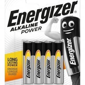 Energizer alkaline power, pack de 4 pilas lr03, aaa