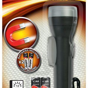 Energizer linterna led magnética, 50 lúmenes, con pilas.